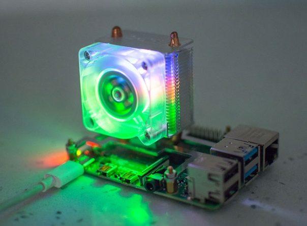 Для микрокомпьютеров Raspberry Pi вышел башенный кулер