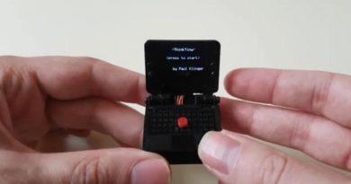 ThinkTiny: крохотный ноутбук с 1-дюймовым дисплеем Сейчас