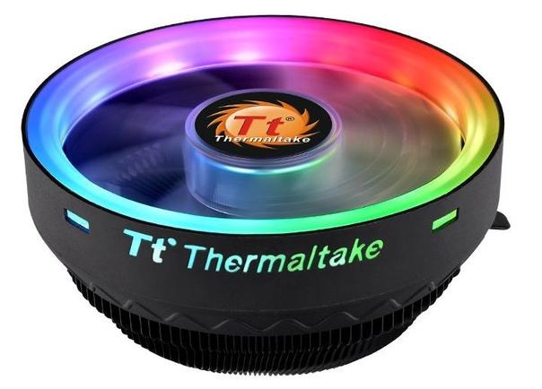 Низкопрофильный кулер Thermaltake UX100 ARGB с яркой