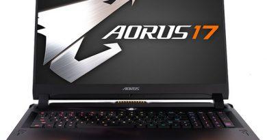 Игровой лэптоп Gigabyte Aorus 17 получил Core