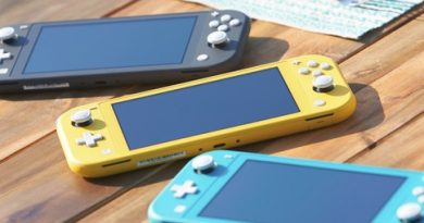 Анонс Nintendo Switch Lite – легкая консоль