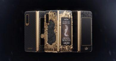 Представлена золотая версия Galaxy Fold в стиле