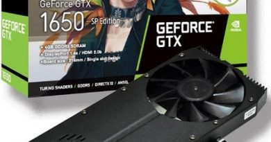 Видеокарта ELSA GeForce GTX 1650 SP имеет