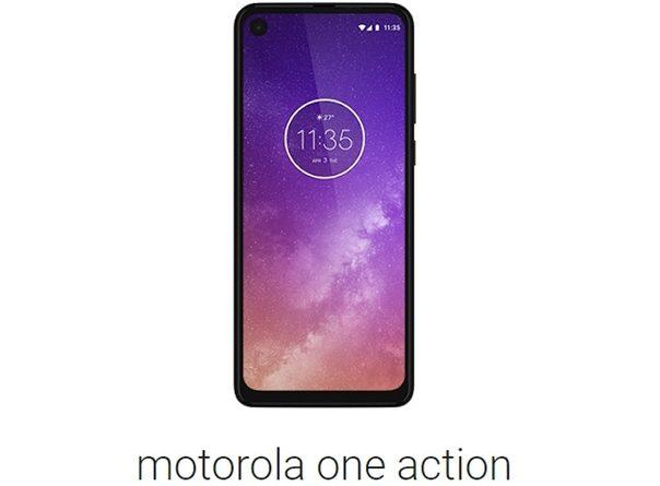 Обнародованы характеристики смартфона Motorola One Action Мы