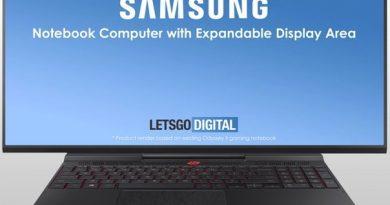 В Samsung изобрели игровой ноутбук с «расширяющимся»