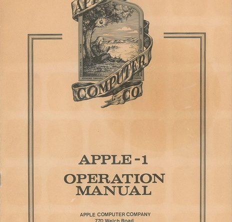 На аукцион выставлена редчайшая инструкция Apple В