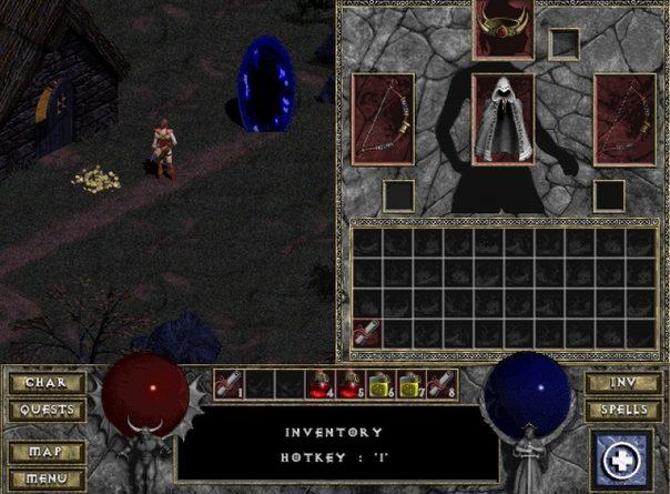 Первая Diablo теперь доступна в браузере Студия