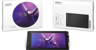 """Новый планшет Wacom с 15,6"""" экраном 4K"""
