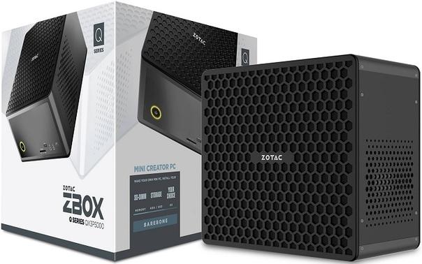 Компактные системы Zotac ZBox QX Series оснащены