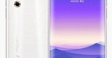 Рендер Meizu 16s Pro со скругленным 90-Гц
