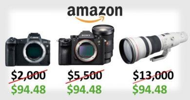 Amazon по ошибке продавал камеры Sony и
