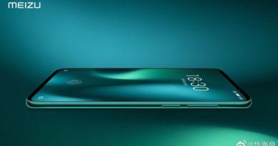 Meizu 16s Pro в зеленом цвете на