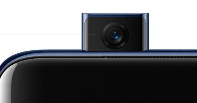 Выдвижная фронталка OnePlus 7 Pro против 22