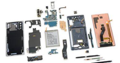 Galaxy Note 10 почти невозможно отремонтировать Специалисты