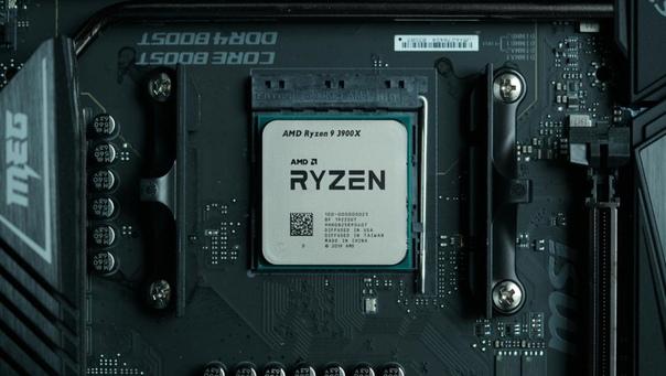 Флагманский AMD Ryzen 9 3900X оказался в