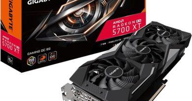 Gigabyte начала поставки карт Radeon RX 5700