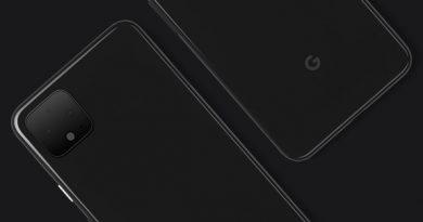 Официальный тизер Google Pixel 4 с двойной