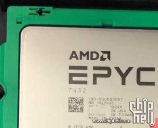 32-ядерный AMD EPYC 7452 (Zen 2) оказался