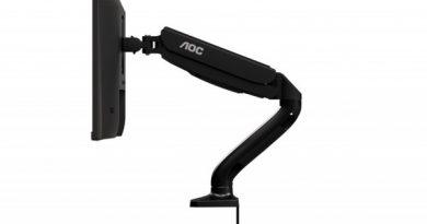 Компания AOC представила удобные подставки под мониторы