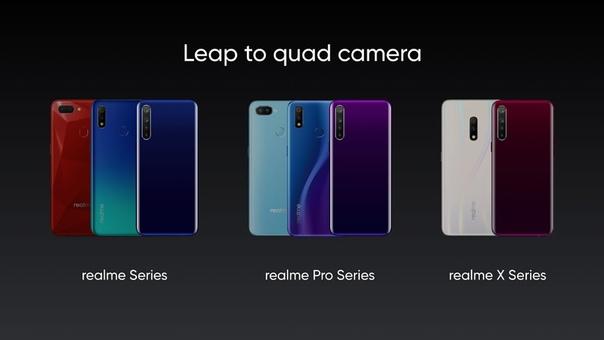 Realme представила 64-Мп Quad-камеру: подробности и примеры