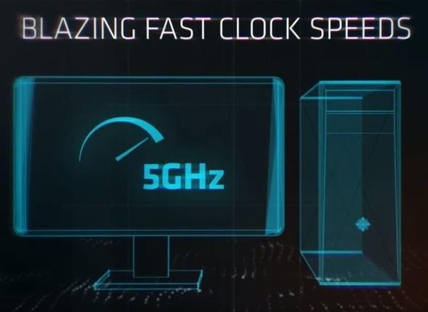AMD бросила мечтать о 5 ГГц, чем