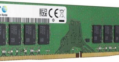 Samsung начала поставки 32-гигабайтных модулей DDR4-2933 с