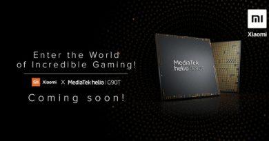Xiaomi готовит игровой смартфон на MediaTek Helio
