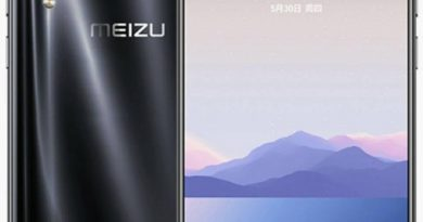 Рендеры Meizu 16Xs в четырех цветах и