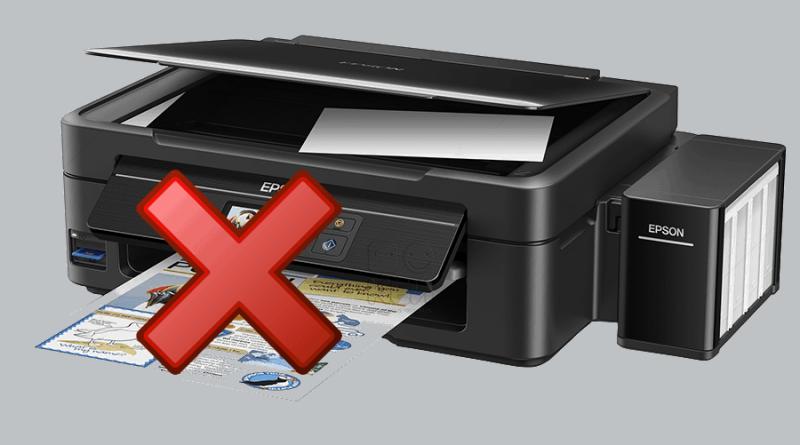 Не печатает принтер Epson основные проблемы