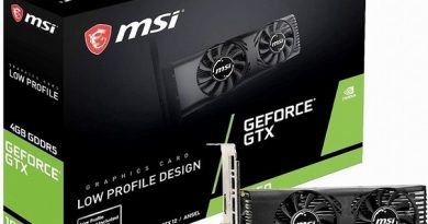 Видеокарта MSI GeForce GTX 1650 4GT LP