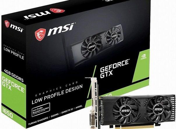 Видеокарта MSI GeForce GTX 1650 4GT LP