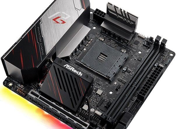 Материнская плата ASRock X570 Phantom Gaming-ITX/TB3 поступила