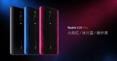 Artikkel on kustutatud Анонсированы Redmi K20 Pro
