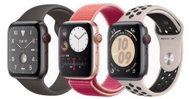 Во всех Apple Watch Series 5 теперь