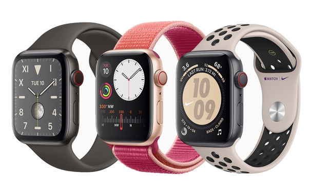 Во всех Apple Watch Series 5 теперь