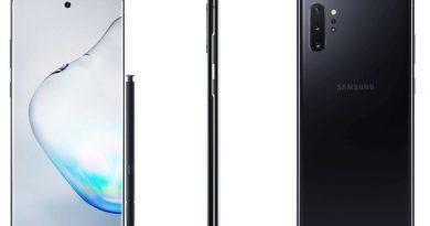 Качественные рендеры Samsung Galaxy Note 10+ с