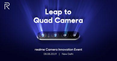 64-Мп Quad-камера от Realme будет представлена на
