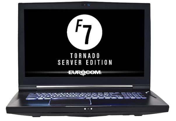 Eurocom Tornado F7 Server Edition: мобильный сервер