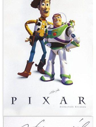Постер самой первой части «Игрушечных историй» с