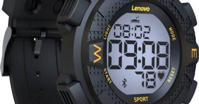 Смарт-часы Lenovo Ego: до 20 суток автономной