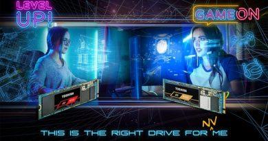 Toshiba представила NVMe-накопители RD500 и RC500 с