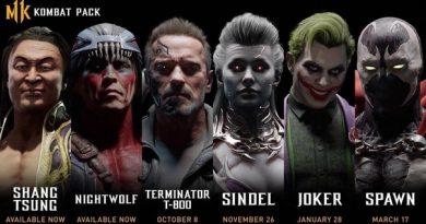 Новые бойцы для #MortalKombat11