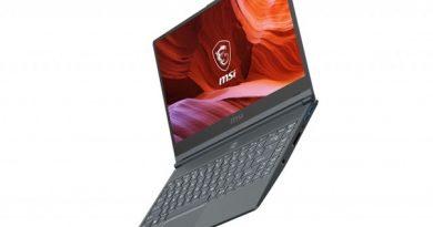 Ноутбук MSI Modern 14 с процессором Intel