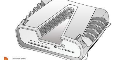 Sony запатентовала дизайн PlayStation 5 (фото) Еще
