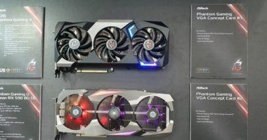 Энергопотребление двух версий AMD Radeon RX 5700